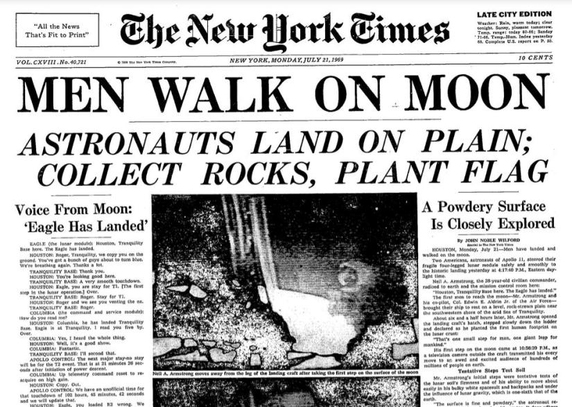 Moon New York TImes July 21