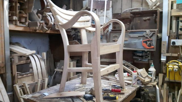 Dan Hussey Chair No 1-4