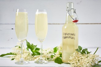Elder flower champagne